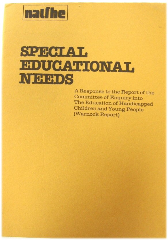 Image for Special Educational Needs: A Response to the Report of the Committee of Enquiry into The Education of Handicapped Children and Young People (Warnock Report)