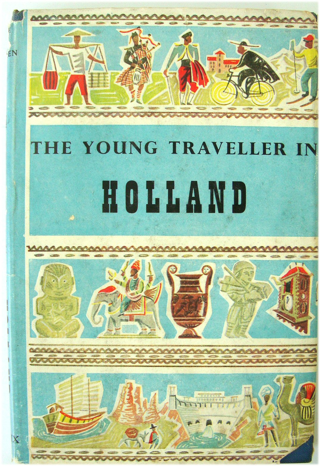 Image for The Young Traveller in Holland