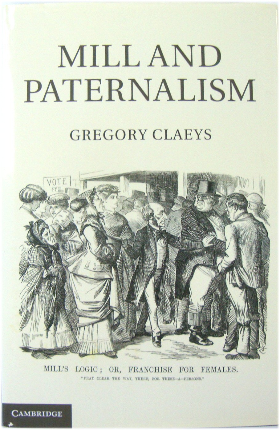 Image for Mill and Paternalism