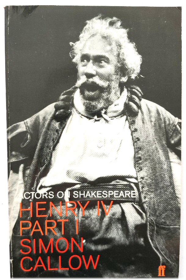 Image for Henry IV, Part I (Actors on Shakespeare)