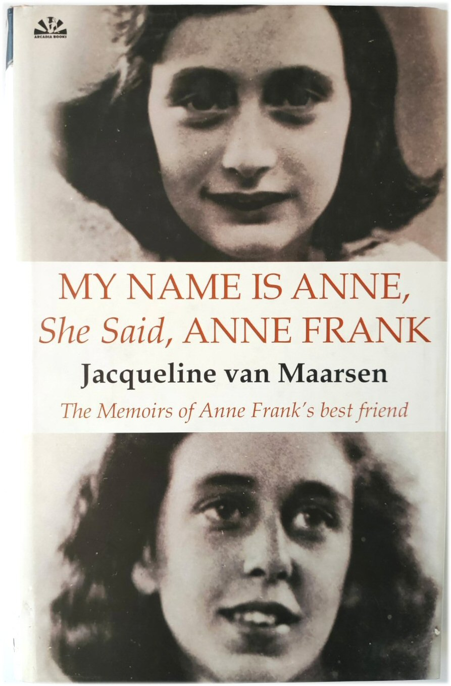 Image for My Name is Anne, She Said, Anne Frank