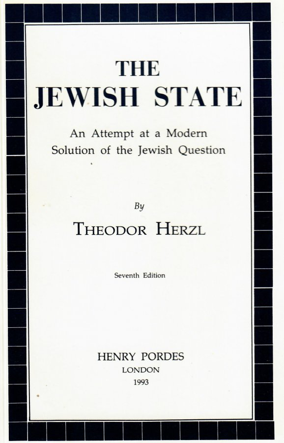 Image for Jewish State