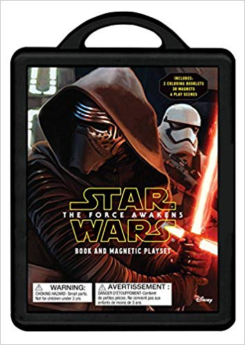 Image for Star Wars: The Force Awakens: Magnetic Book and Play Set (Book and Magnetic Play Set)