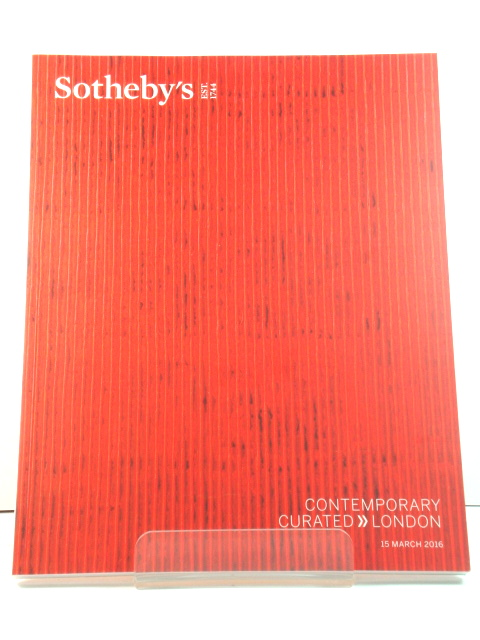 Image for Sotheby's Sale L16026: Contemporary Curated, London, 15 March 2016