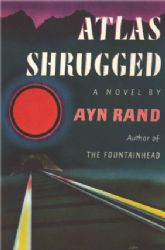 Image for 'Atlas Shrugged' Book Cover Poster