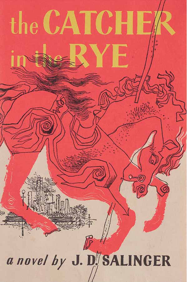 Image for 'The Catcher in the Rye' 59x84cm Book Cover Poster