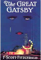 Image for 'The Great Gatsby' - Book Cover Poster 59x84cm