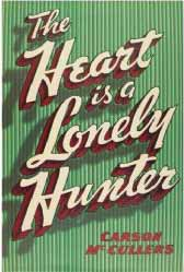 Image for 'The Heart is a Lonely Hunter' Book Cover Poster