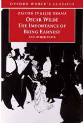 Image for 'The Importance of Being Earnest' Book Cover Poster 59x84cm