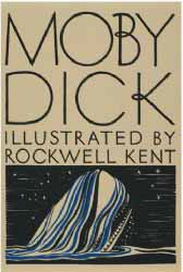 Image for 'Moby Dick' Book Cover Poster