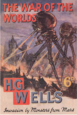 Image for 'The War of the Worlds' Book Cover Poster